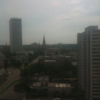 Photo taken at DoubleTree by Hilton Hotel Tulsa Downtown by Jennifer L. on 5/4/2012