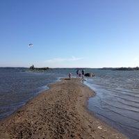 Снимок сделан в Kallahdenniemen uimaranta пользователем Aapo R. 7/9/2012