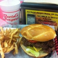 Photo taken at David's Burgers by Jim W. on 3/1/2012