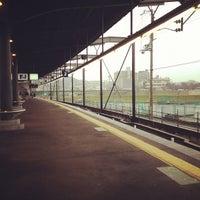 Photo taken at Keihan Uji Station (KH77) by Tomoya S. on 3/17/2012