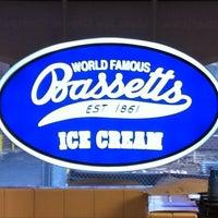 Photo taken at Bassett's Ice Cream by Raquel C. on 3/31/2012