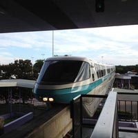 Photo taken at Monorail Teal by David R. on 8/1/2012