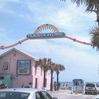 Photo taken at New Smyrna Beach Flagler Ave by Bob-Sara C. on 3/30/2012
