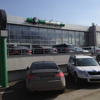 Photo taken at Европа Авто by Alexey B. on 4/13/2012