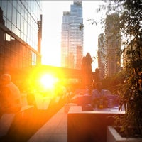 Photo taken at The Terrace at Yotel by Paul M. on 8/13/2012