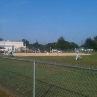 Photo taken at Hurlock Little League Fields by Erick 'EAlexStark' R. on 7/17/2012