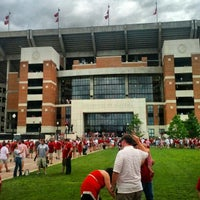 Photo taken at Bryant-Denny Stadium by Ryne S. on 9/8/2012