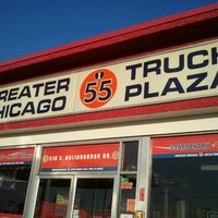 Photo taken at Greater Chicago I-55 Auto/Truck Plaza by Brian M. on 4/17/2012