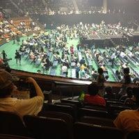 Photo taken at Yoyogi 2nd Gymnasium by Hisayoshi A. on 7/6/2012