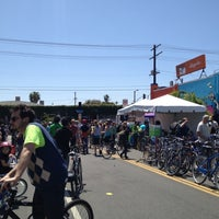 Photo taken at Bicycle District by Michael Anthony on 4/15/2012