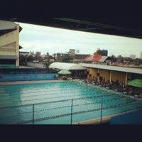 Photo taken at Abellana Swimming Pool by CJ P. on 9/8/2012