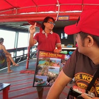 Photo taken at on the way to Ang Thong Island by PattY P. on 3/26/2012
