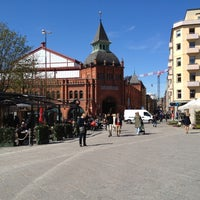 Photo taken at Östermalmstorg by David L. on 5/2/2012