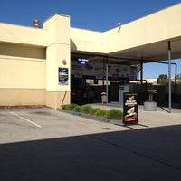 Photo taken at Chevron by George Y. on 3/3/2012