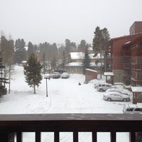 Photo taken at Pine Ridge Condominiums Breckenridge by Christie F. on 2/21/2012
