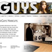 Photo taken at Wise Guys Salon by Wise Guys H. on 5/20/2012