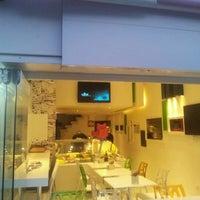 7/9/2012 tarihinde Aytaç A.ziyaretçi tarafından Vabi Waffle & Kumpir House'de çekilen fotoğraf