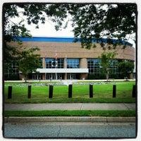 Photo taken at Hampton University by Aaron on 8/12/2012