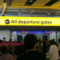 Photo taken at Security/Passport Control - T4 by David L. on 8/26/2012