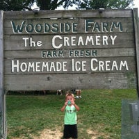 Photo taken at Woodside Farm Creamery by Dana B. on 7/15/2012