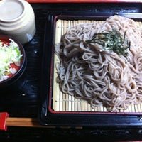Photo taken at そば処薮庵城崎店 by Tetsu N. on 3/30/2012