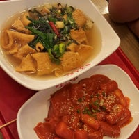 Photo taken at 죠스떡볶이 Jaws Food by Kylie K. on 5/22/2012