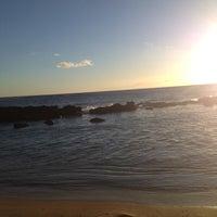Photo taken at Salt Pond Beach Park by Rebecca W. on 6/11/2012
