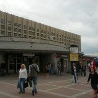 Photo taken at metro Elektrosila by Andrey I. on 7/19/2012
