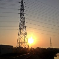 Photo taken at 萬歳橋 by yama_taka7 on 4/16/2012
