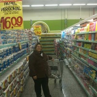 Photo taken at Supermercados Lopes by Fernando D. on 6/21/2012