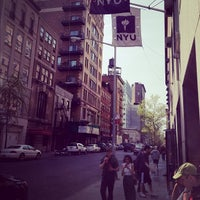 Photo taken at NYU Palladium Residence Hall by Don K. on 4/14/2012