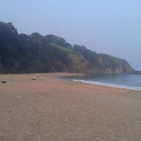 Photo taken at Blackpool Sands by Tim B. on 5/24/2012