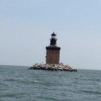 Photo taken at Toledo Harbor Lighthouse by Sean on 8/16/2012