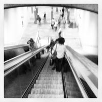 Photo taken at Metro Cais do Sodré [VD] by Vitor C. on 6/8/2012