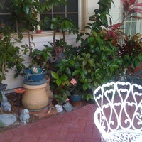 Photo taken at Sabal Palm House Bed and Breakfast by Colleen R. on 6/28/2012