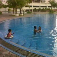 Photo taken at CeRia PoolSide Cafe by MRR on 4/21/2012