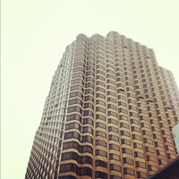 Photo taken at Parc 55 San Francisco - A Hilton Hotel by Evangeline B. on 4/18/2012
