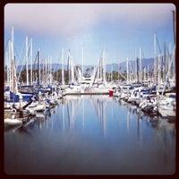 Photo taken at Santa Barbara Harbor by Rose I. on 7/8/2012