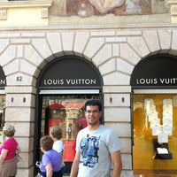 Photo taken at Louis Vuitton by Henrique C. on 6/6/2012