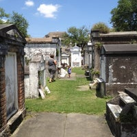 Photo taken at Lafayette Cemetery No. 1 by Peter T. on 5/10/2012