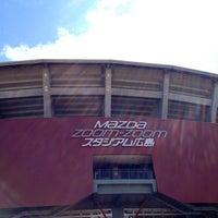 Photo taken at Mazda Zoom-Zoom Stadium Hiroshima by きよか on 4/14/2012
