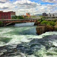 Photo taken at Riverfront Park by LoG S. on 9/5/2012