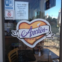 Photo taken at Andie's Cafe by JENNIFER on 7/16/2012