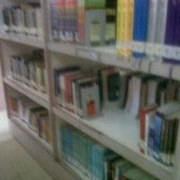 Photo taken at Perpustakaan Politeknik Pos Indonesia by yulna n. on 6/18/2012