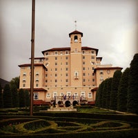 Photo taken at The Broadmoor by Elysa E. on 5/19/2012