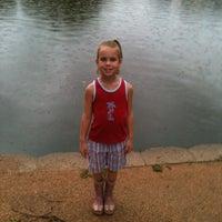 Photo taken at Sfa Ag Pond by Tim L. on 7/12/2012