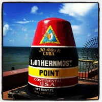 Photo taken at Southernmost Point Buoy by Ludovic E. on 8/5/2012