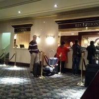 Photo taken at Wellington Hotel by Aubrey K. on 3/17/2012