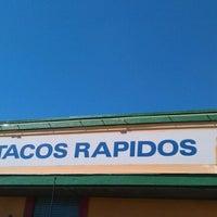 Foto scattata a Tacos Rapidos da M.A.D.M.A.N.™ @. il 4/1/2012