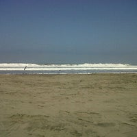 Photo taken at Playa La Punta by Johanna C. on 6/10/2012